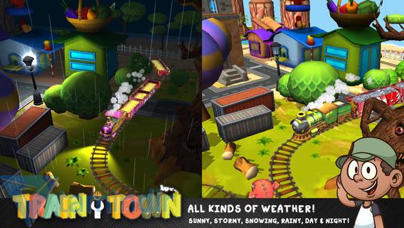 Train Town: Build & Explore Ekran Görüntüleri - 2