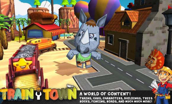 Train Town: Build & Explore Ekran Görüntüleri - 1