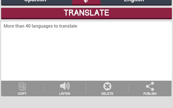 Translator Ekran Görüntüleri - 1