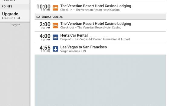 TripIt Travel Organizer – Free Ekran Görüntüleri - 3