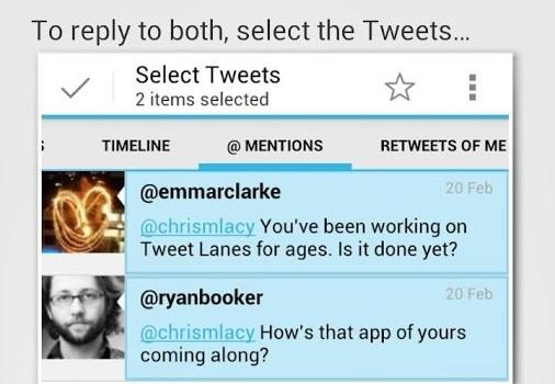 Tweet Lanes Ekran Görüntüleri - 1