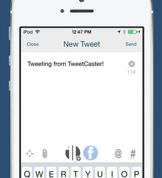 TweetCaster Ekran Görüntüleri - 1