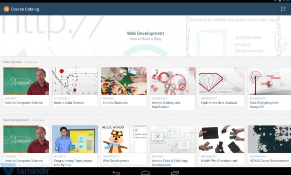 Udacity Ekran Görüntüleri - 1