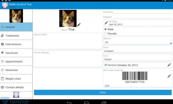 Veterinary Health Record Ekran Görüntüleri - 4