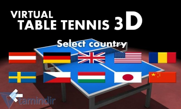 Virtual Table Tennis 3D Ekran Görüntüleri - 2