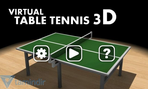 Virtual Table Tennis 3D Ekran Görüntüleri - 1