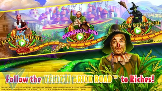 Wizard of Oz Slots Ekran Görüntüleri - 2