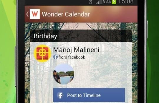 Wonder Calendar Ekran Görüntüleri - 4