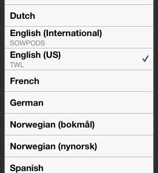Wordfeud Ekran Görüntüleri - 1