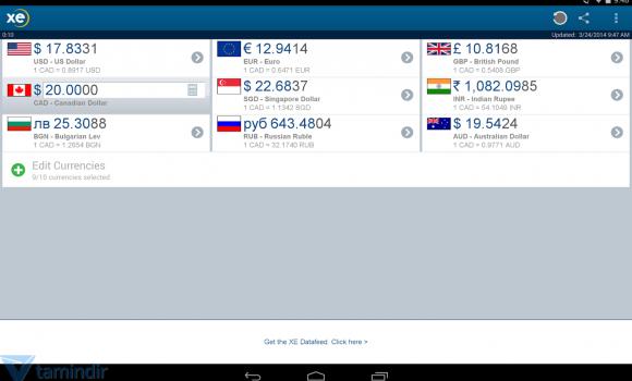 XE Currency Ekran Görüntüleri - 3