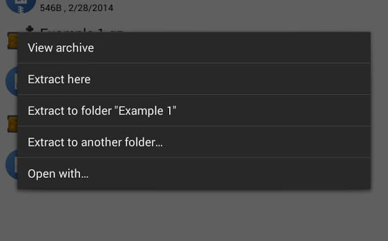 XZip Ekran Görüntüleri - 2