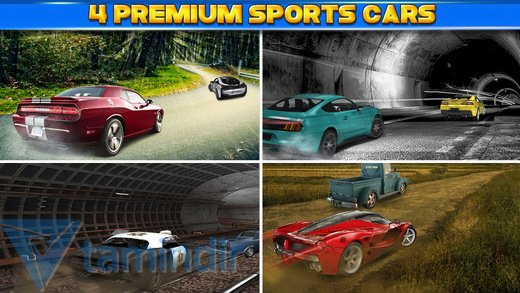 3D Car Motor-Racing Chase Race Ekran Görüntüleri - 2
