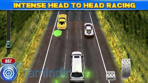 3D Car Motor-Racing Chase Race Ekran Görüntüleri - 1