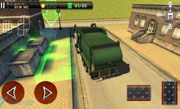 3D Garbage Truck Parking Ekran Görüntüleri - 1