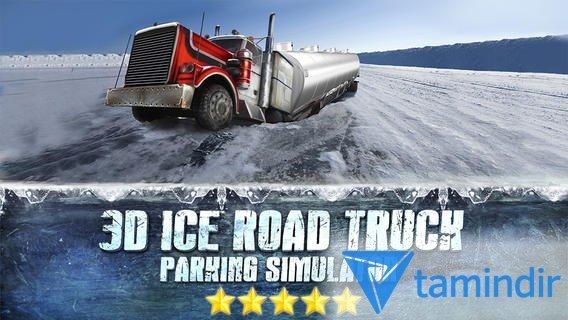 3D Ice Road Trucker Parking Ekran Görüntüleri - 3