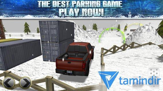 3D Ice Road Trucker Parking Ekran Görüntüleri - 1