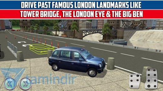 3D London City Car Parking Simulator Ekran Görüntüleri - 1