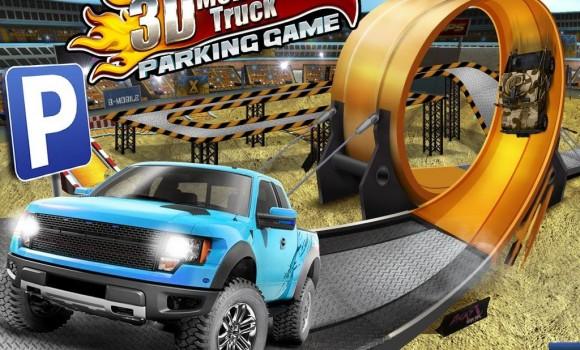 3D Monster Truck Parking Game Ekran Görüntüleri - 3