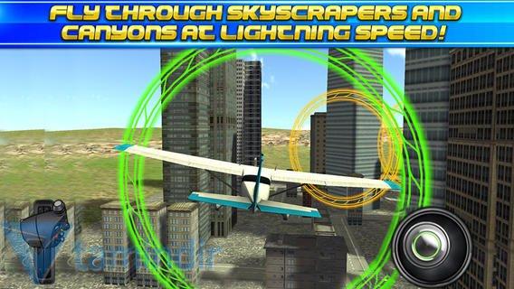 3D Stunt Plane Flying Parking Simulator Ekran Görüntüleri - 3