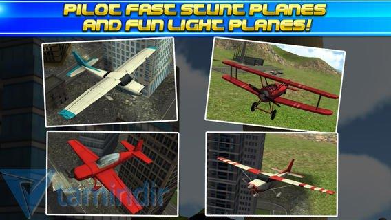 3D Stunt Plane Flying Parking Simulator Ekran Görüntüleri - 2