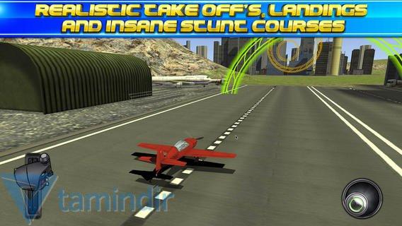 3D Stunt Plane Flying Parking Simulator Ekran Görüntüleri - 1