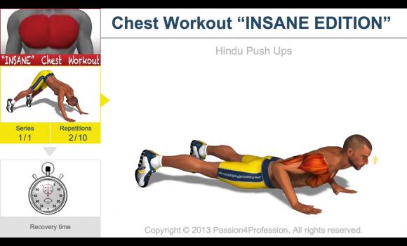 Chest Workout Ekran Görüntüleri - 2
