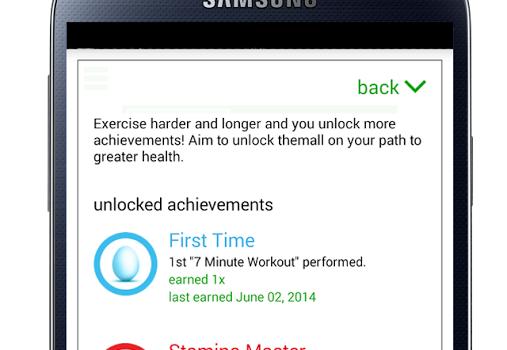 7 Minute Workout Challenge Ekran Görüntüleri - 1