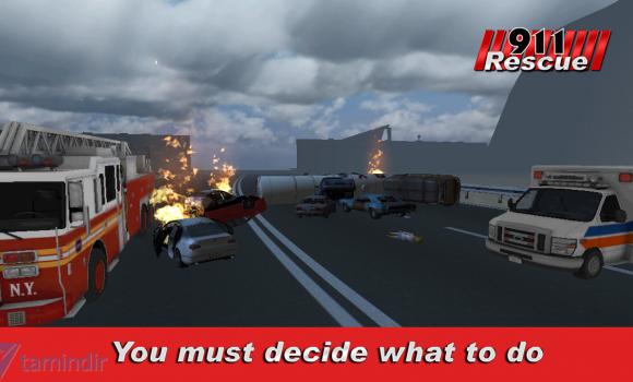911 Rescue Simulator 3D Ekran Görüntüleri - 1