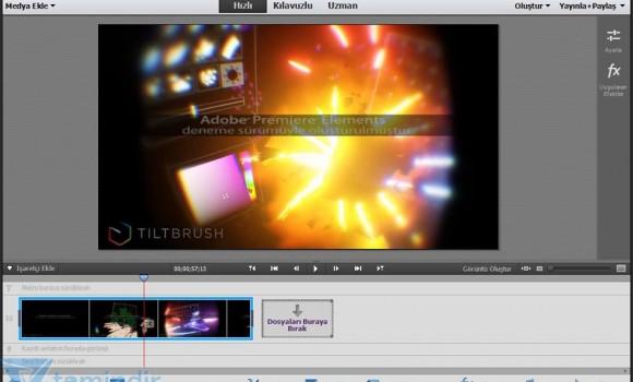 Adobe Premiere Elements Ekran Görüntüleri - 2