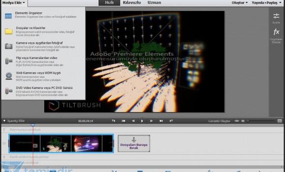 Adobe Premiere Elements Ekran Görüntüleri - 3