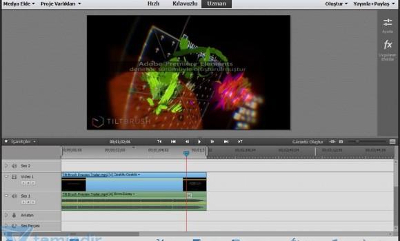 Adobe Premiere Elements Ekran Görüntüleri - 4