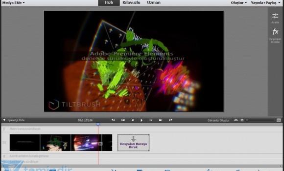 Adobe Premiere Elements Ekran Görüntüleri - 5