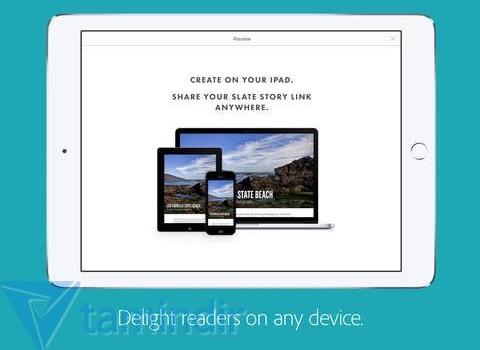 Adobe Slate Ekran Görüntüleri - 3