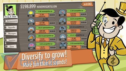 AdVenture Capitalist! Ekran Görüntüleri - 2