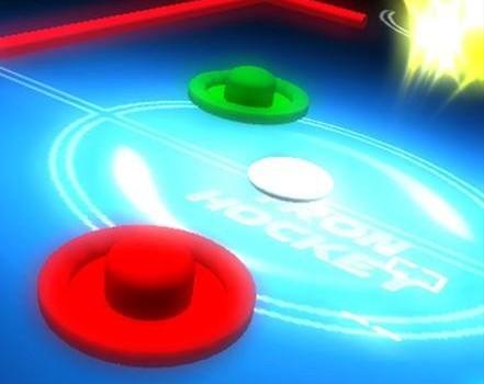 Air Hockey Glow Ekran Görüntüleri - 2
