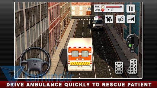 Ambulance Duty Simulator 3D Ekran Görüntüleri - 2