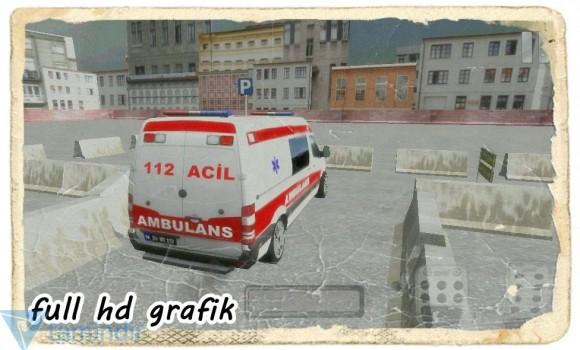 Ambulans Sürme Oyunu 3D Ekran Görüntüleri - 2