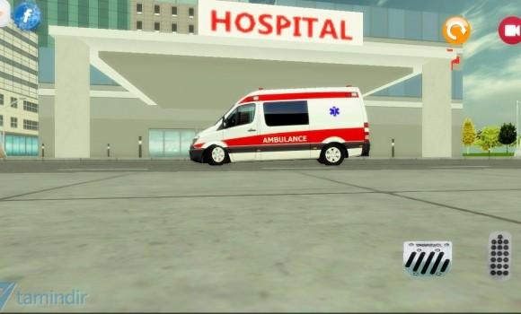 Ambulans Sürme Oyunu 3D Ekran Görüntüleri - 1