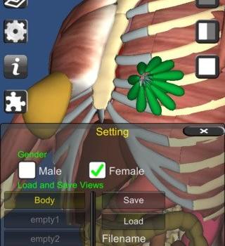 3D Anatomy Ekran Görüntüleri - 1