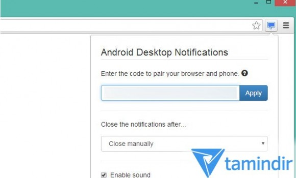 Android Desktop Notifications Ekran Görüntüleri - 1