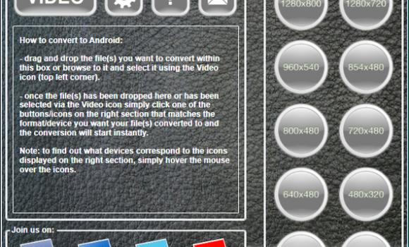 Android Video Turbo Converter Ekran Görüntüleri - 1