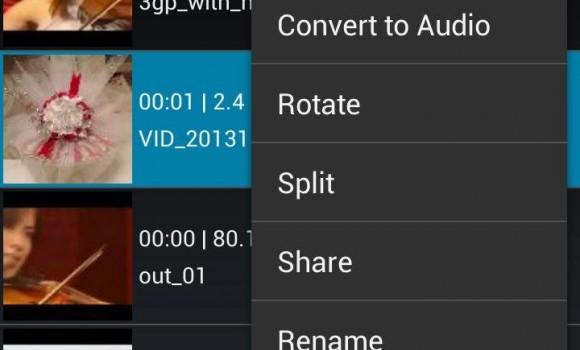 AndroVid Video Editor Ekran Görüntüleri - 3