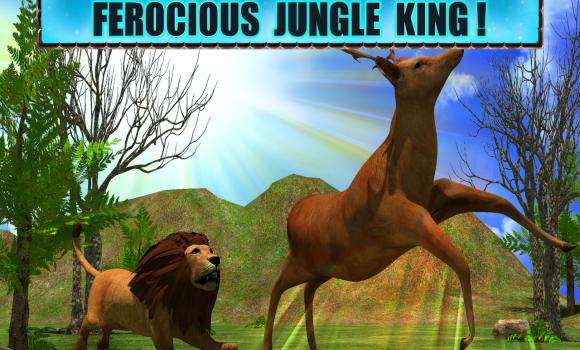 Angry Lion Attack 3D Ekran Görüntüleri - 4
