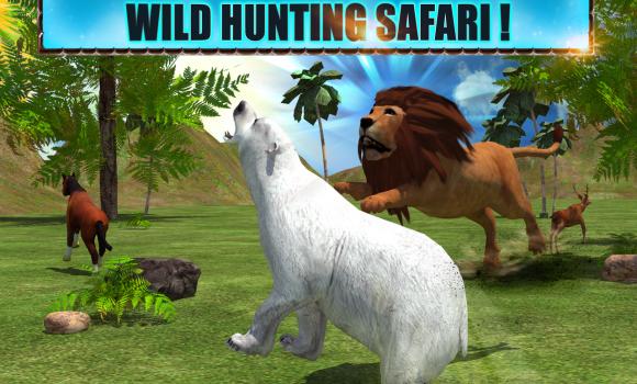 Angry Lion Attack 3D Ekran Görüntüleri - 1