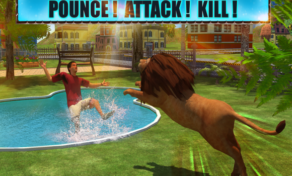 Angry Lion Attack 3D Ekran Görüntüleri - 2