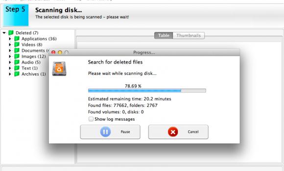AppleXsoft File Recovery for Mac Ekran Görüntüleri - 2