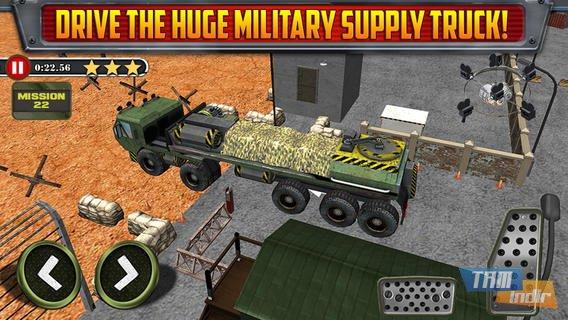 Army Trucker Parking Simulator Ekran Görüntüleri - 1