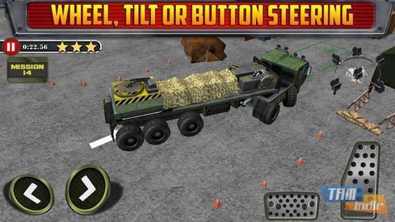 Army Trucker Parking Simulator Ekran Görüntüleri - 2