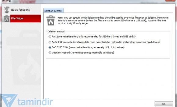 Ashampoo File Wiper Ekran Görüntüleri - 1
