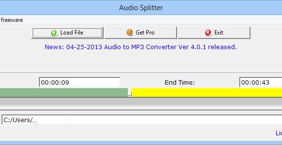 Audio Splitter Ekran Görüntüleri - 1